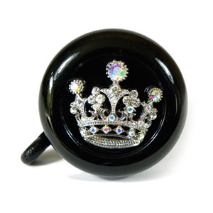 Princess Black Bike Bell By CruiserCandy.com