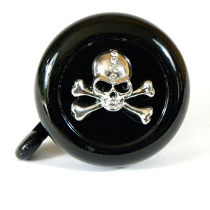 Skull Bike Bell By CruiserCandy.com