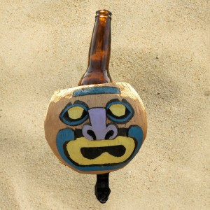 Coconut Mad Face Drink Holder By CruiserCandy.com