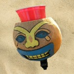 Coconut Sad Face Drink Holder By CruiserCandy.com
