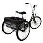 CruiserCandy - Trike Basket Liner - Black