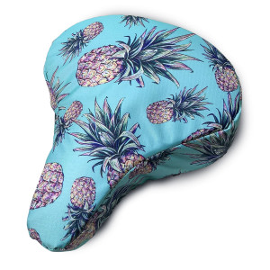 Bicycle Seat Cover Pineapples