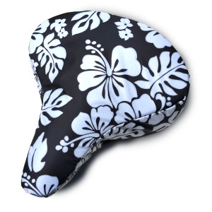 Bicycle Seat Cover Black and White