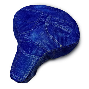 Bicycle Seat Cover Denim
